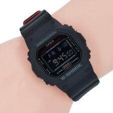 Casio Herrenuhr Damen Uhr G Shock 20 bar DW-5600HRGRZ-1ER Gorillaz Rot Schwarz