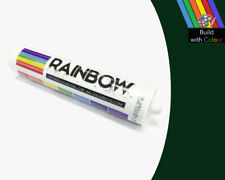 Moss Green Colour Silicone Sealant Rainbow 310ml RAL 6005 Indoor & Outdoor use