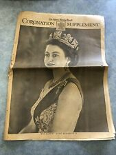 #AA. SYDNEY MORNING HERALD  - 2 June 1953, QUEEN ELIZABETH  CORONATION SOUVENIR