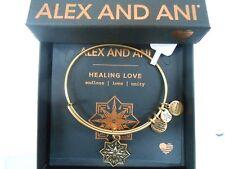 Alex and Ani Healing Love II Bangle Bracelet RAFEALIAN Gold Expandable