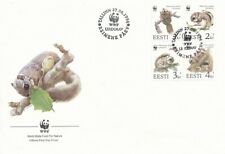 2295 - Estonia - 1994 - WWF Flying Squirrel - FDC - Lemberg-Zp