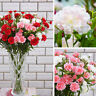 GI- KQ_ 1Pc Carnation Artificial Flower Fake Plant Bouquet Wedding Party Decor H