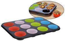 Muffin Molde para Formas Cupcakes Plato Hornear Silikonförmchen