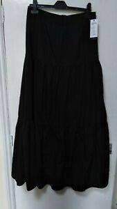 "Zanzea collection Womens Cotton blend Skirt Maxi Gypsy Casual Festival waist 28"""