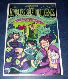 adventures into MINDLESS SELF INDULGENCE 1 1st print COMIC iMAGE 2010 MSI HOT NM