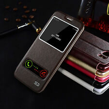 Luxury View Window Wallet Stand Flip Leather Case Cover For iPhone 7 6s 6 Plus