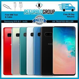 Samsung Galaxy S10 - 128GB / 512GB - Unlocked SIM FREE - Various Colours