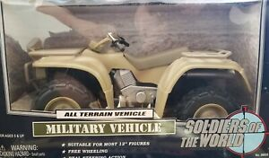 Soldiers of the World. Desert tan All terrain vehicle 1/6 scale