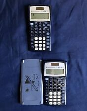Two Texas Instruments Ti-30x Iis Calculators - Cover Included With One Of Them