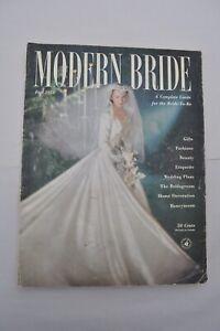 Vintage Bride Magazine Fall 1951 Fashions Beauty Etiquette Wedding Plans