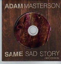 (DA160) Adam Masterson, Same Sad Story - 2003 DJ CD