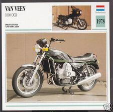 1978 Van Veen 1000cc OCR Wankel Rotary Netherlands Bike Motorcycle Photo Card
