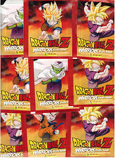 Dragonball Z Warriors / Sticker / 25 Tüten / Panini