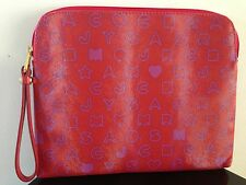 Marc by Marc Jacobs Stardust  iPad Case Wristlet Tablet Red