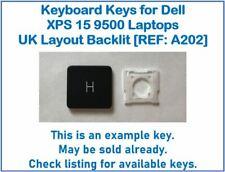 Keyboard Keys for Dell XPS 15 9500 Laptops UK Layout Backlit [REF: A202]