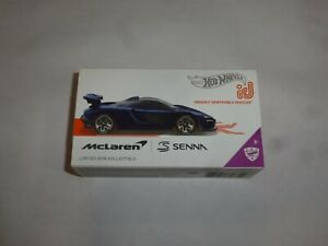 HOTWHEELS ID BLUE MCLAREN SENNA SERIES 2 FACTORY SEALED
