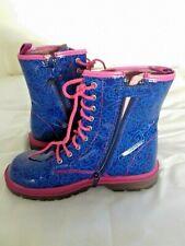 Agatha Ruiz De La Prada Blue Boots Size 32 UK 13