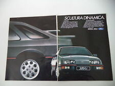 advertising Pubblicità 1983 FORD SIERRA XR4 XR 4 i
