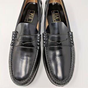Florsheim FLS Belton Penny Loafer size 8 D Black Leather Casual  20191