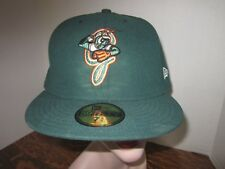 Greensboro Grasshoppers Triple A minor league baseball hat New Era 59Fifty 7 5/8