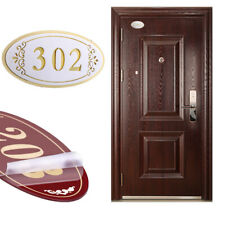 white House Signs Plaques Door Name Numbers Personalised Customizable Plate sign