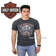 Motorrad Herren-T-Shirts mit Rundhals-Ausschnitt in normaler Größe