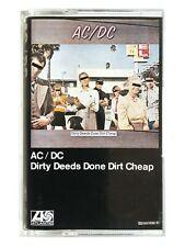 AC/DC - Dirty Deeds Done Dirt Cheap - Cassette 7567814814
