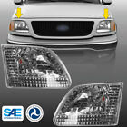 Aftermarket headlights for 1997-2003 ford f-150 2004 heritage chrome headlamps