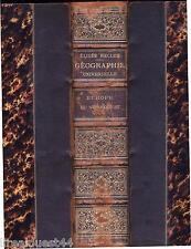 Nouvelle géographie universelle La terre et les hommes Reclus Europe 1879