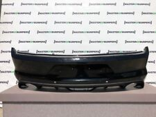 FORD MUSTANG S550 2015-2019 REAR BUMPER WITH DIFUSER GENUINE [F317]