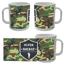 Mug Tasse Super Soldat camouflage Militaire Armée Guerre guerrier Jeux vidéo