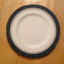 "Royal Doulton Sherbrooke Fine Bone China H5009 8"" Salad Side Plate Made England"