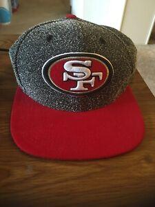 9Fifty Original Fit Cap,NFL San Francisco 49ers New Era Red  Gray, Adjustable