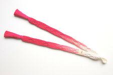 Japanese Vintage Silk Haori Himo Cords Pink Cream X337