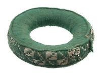 Cuscino Ciotola Tibetano Ø 14.7cm Antico Anello Da Campeggio Newari Verde 4189