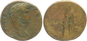 Dupondius 136-137 Antike / Römische Kaiserzeit/ Aelius Caesar  (49563)