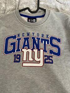 NFL NY Giants Small Grey Sweatshirt