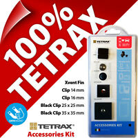 Tetrax Accessory Kit Spare Adhesive Clips for Xway Smart Geo Fix Mounts Holders