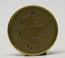 SOBRIETY MEDALLION - THE DOVE - BRONZE - RECOVERY