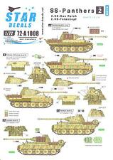 Star Decals 1/72 SS PANTHERS 2nd SS Das Reich & 2nd SS Totenkopf Divisons