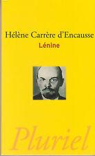 LENINE Hélène Carrère d'Encausse biographie histoire livre Russie