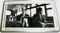 ROSA PARKS GEOCOIN - ANTIQUE SILVER - NEW - U/T