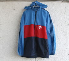 Vintage Adidas Rain Jacket Windbreaker Size D52