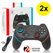 2x Pro Controller für Nintendo Switch Wireless Vibration Gamepad Joystick Neu?