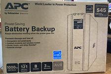 APC Power Saving Battery Backup  BR1000G 8-Outlet 1000VA/600W