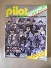 PILOT Rivista Fumetti n°1 1981 Christin Bilal - Uomo di carta Manara   [G329]