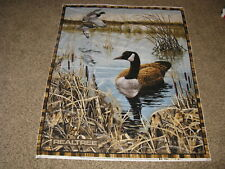 Realtree~Pond~Scenic Canada Goose Fabric Panel~Northern Promotions~Pattern 9944