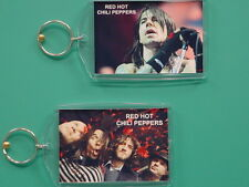 RED HOT CHILI PEPPERS - Anthony Kiedis - with 2 Photos - GIFT Keychain