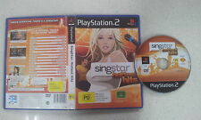 Singstar Hottest Hits Playstation 2 PS2