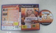 Singstar Hottest Hits Playstation 2 PS2